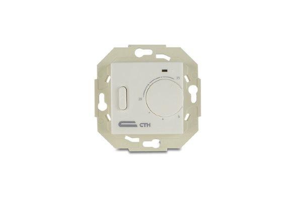 Терморегулятор встраиваемый с датчиком пола СТН TV 10 (Б)