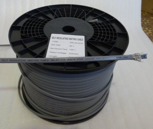 Саморегулирующийся греющий кабель для кровли и водостоков